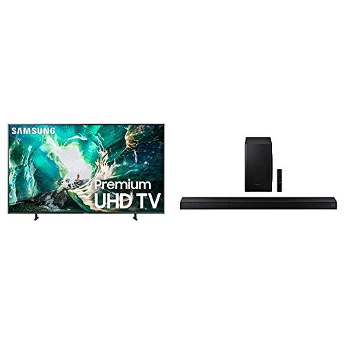Samsung 82-Inch 4K 8-Series UHD Smart TV with Samsung HW-Q60T 5.1ch Soundbar (2020)