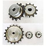 #35 Chain Drive Sprocket 11T Pitch 9.525mm For 3/8' #35 06B Roller Chain (11T)