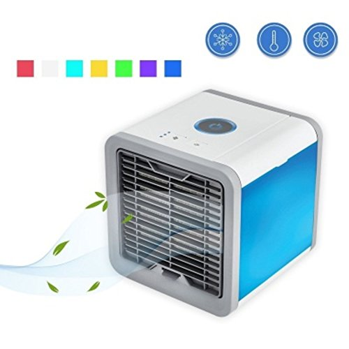 JiaQi Desktop Air Conditioner,Mini Air Cooler,Portable Desktop Office Cooling
