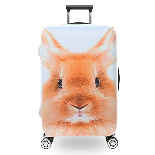 BEDLININGS Fundas para Maletas de Viaje,3D Print Animal Avatar Diseño Travel Trolley Case Cover Protector Maleta Cover Trolley Case Equipaje de Almacenamiento Cubiertas,C,S
