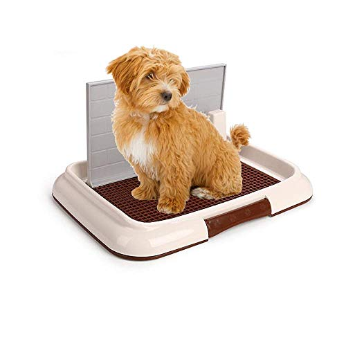 Wotendy Pet Pee Pad Holder Dog/Cat Training Tray Portable Plastic Pee Protection Easy to Cleanup Suitable for Small Dog