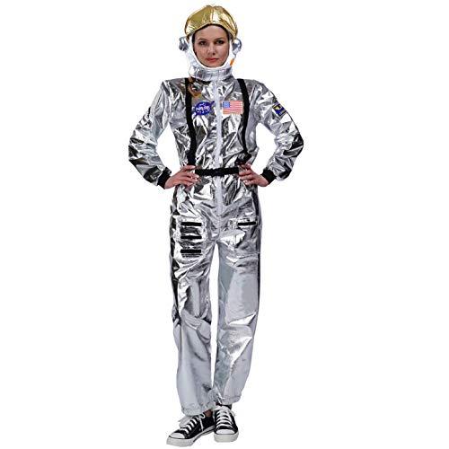 SEA HARE Astronautenoverall Kostüm für Erwachsene (Damen mit Hut)