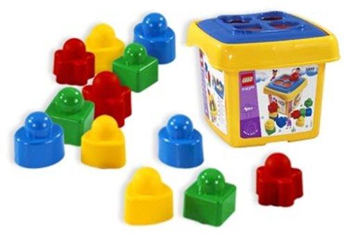 Lego Baby 5449 - Bunter Sortier-Eimer, 12 Teile