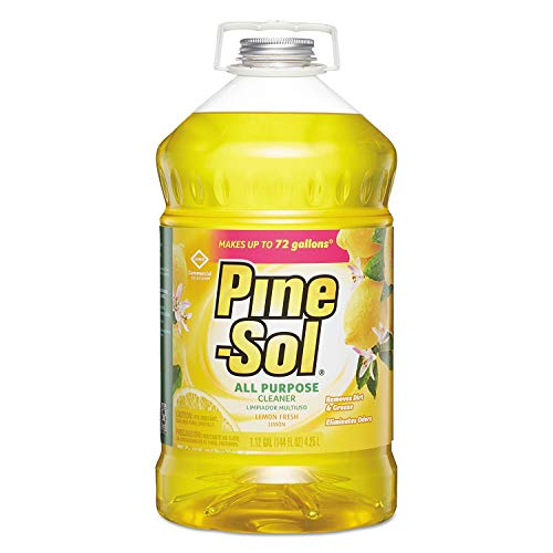 Clorox 35419 Pine-Sol Lemon Fresh All-Purpose Cleaner Bottle,144-Ounce (3-Pack) (Limited Edition)