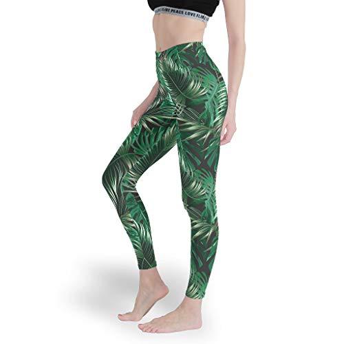 Mädchen Basic Gemustert Leggings Cool Custom Yoga Hosen Capri-Weich Capris Tights für Schule White s