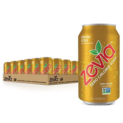 *Back* 24-Pack 12-Oz Zevia Zero Calorie Soda (Cream Soda) $11.35 w/ S&S + Free Shipping w/ Prime or on $25+