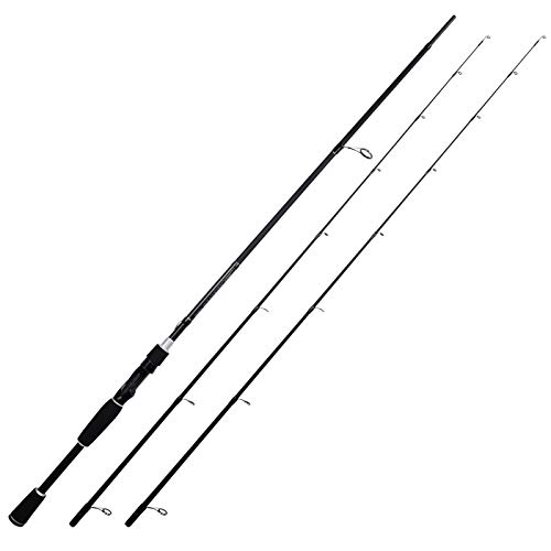 KastKing Perigee II Fishing Rods, Spinning Rod 7ft - Medium Light and Medium - Fast - Twin-tip Rod (2Tips+1 Butt Section)