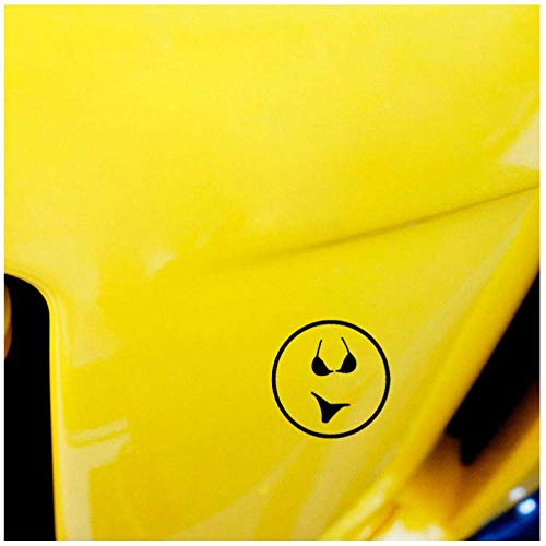 (5P)12.2Cm*12.2Cm Badpak Bikini Smiley Gezicht Cartoon Vinyl Decal Auto Sticker