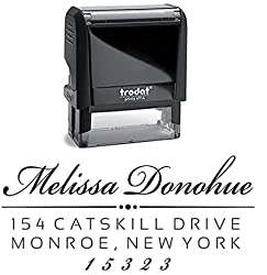 Personalized Self-Inking Return Address Stamp by 904 Custom