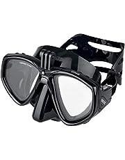 SEAC One Pro duikmasker met houder voor GoPro-camera voor onderwaterduikingen en snorkels, uniseks, volwassenen