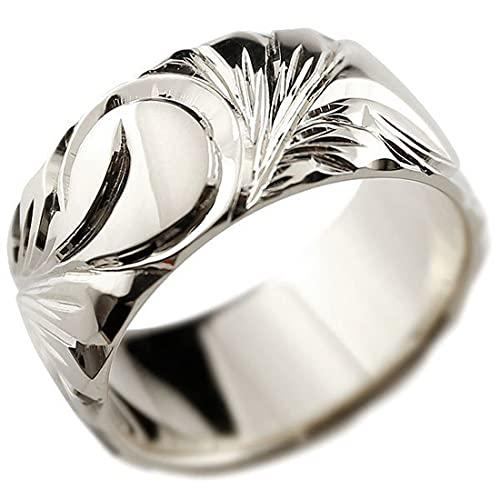 [アトラス]Atrus リング レディース pt900 プラチナ900 幅広 指輪 ハワイアンジュエリー 地金 マイレ スクロール ストレート 22号