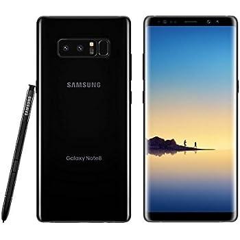 Amazon.com: Samsung Galaxy Note 8, 64GB, Midnight Black - For AT&T (Renewed)