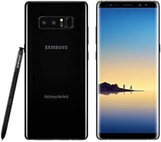 Samsung Galaxy Note 8 SM-N950U 64GB Midnight Black AT&T Unlocked - Renewed