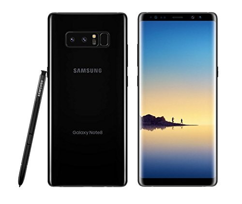 Samsung Galaxy Note 8, 64GB, Midnight Black - For AT&T (Renewed)