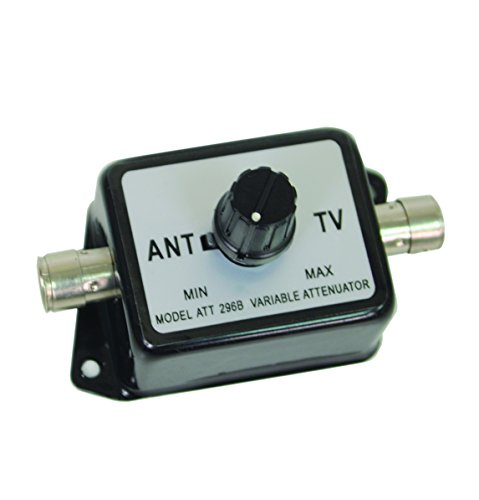 Variable Attenuator, Black (or Black/Silver colour, identical item) - Alters & varies Television signal