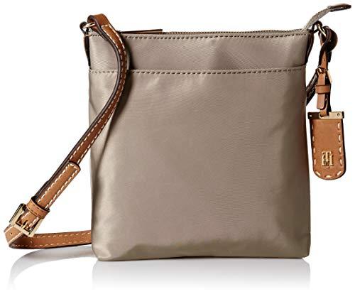 Tommy Hilfiger Crossbody Bag for Women Julia, Khaki