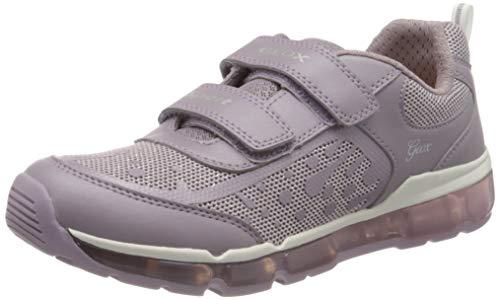 Geox Mädchen J Android Girl B Sneaker, Violett (Mauve C8003), 32 EU