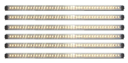 Inspired LED   Pro Series   42 LED 6 Panel Pack ~3000K Warm White   LED Light Panels