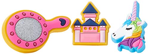 Crocs Jibbitz Shoe Charm Symbols 3-Pack | Personalize with Jibbitz for Crocs Fairy Tale One-Size