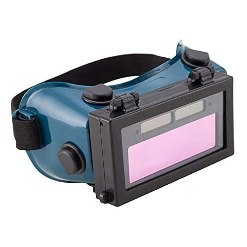 SDENSHI Oscurecimiento Automático Gafas para Soldar Gafas de Seguridad Lente Abatible Protección Ocular