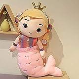 N-L Muñeca de Sirena, Juguete de Peluche, Auriculares, muñeca de Princesa, muñeca de Sirena, Regalo ...