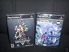 Kingdom Hearts II Original Black Label and Kingdom Hearts Re Chain of Memories-First Run Print for the PS2