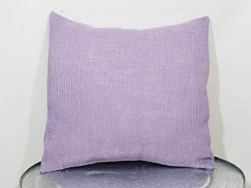 Funda de almohada personalizada, color violeta y morado