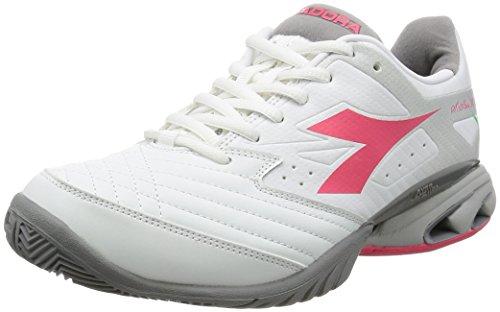 Diadora. Dames schoenen loopschoen sportschoen Sneaker S.Stark K W IV AG White/Paradise Pink Meerkleurig 10117014201C6017