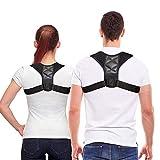 Mespirit Posture Corrector for Men & Women, Back Posture Brace - Adjustable Clavicle Brace Perfect for Shoulder Support, Upper Back & Neck Pain Relief, 2020 Newest Upgrade ZR01
