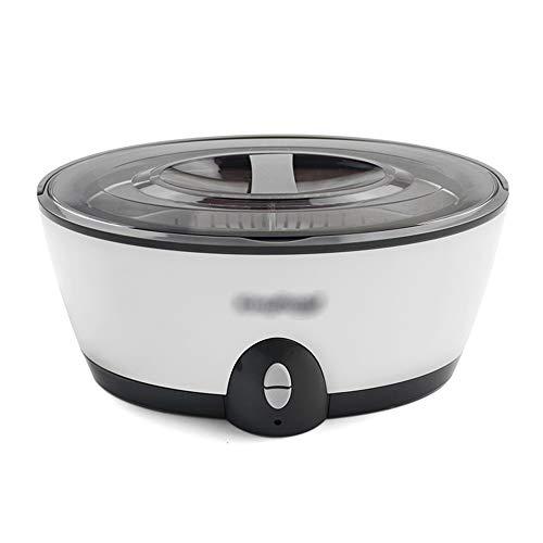 LJJOO Digitale Haushaltsklein Ultraschall-Reinigungsmaschine, Edelstahl Mini Waschmaschine, 450ml, Geeignet for Uhren, Brillen, Uhren