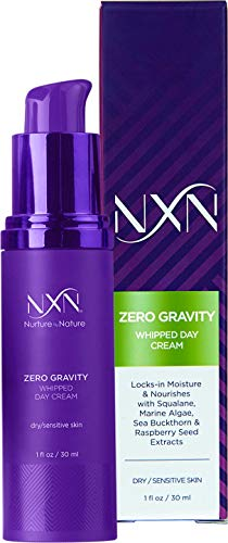 NxN Whipped Day Cream Face Moisturizer with Natural Retinol, Squalane & Grapeseed Oil - Anti Aging Facial Formula for Dry/Sensitive Skin