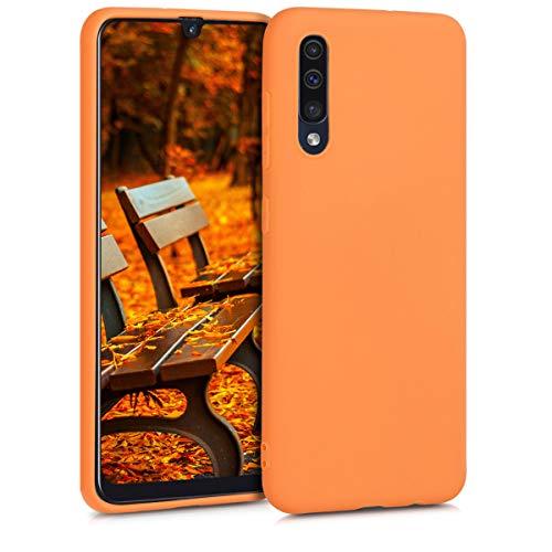 kwmobile Hülle kompatibel mit Samsung Galaxy A50 - Handyhülle - Handy Hülle in Cosmic Orange