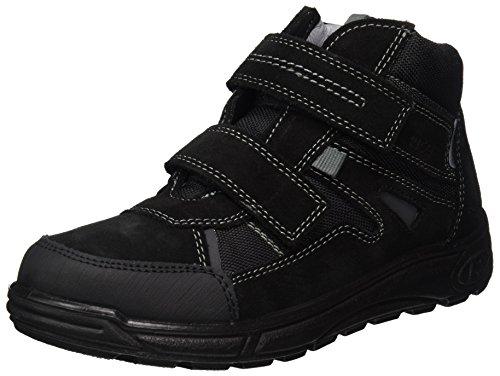 RICOSTA Jungen Don Hohe Sneaker, Schwarz (Schwarz), 00033 EU