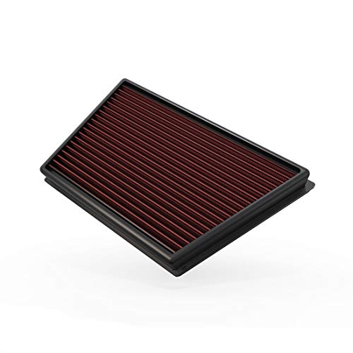 K&N Engine Air Filter: High Performance, Premium, Washable, Replacement Filter: Fits 2011-2018 Land Rover L4 (Discovery Sport, Range Rover Evoque, LR2, Freelander), 33-2991