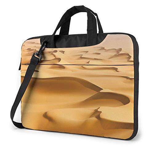 Laptop Case Computer Bag Sleeve Cover Desert Sand Mount Waterproof Shoulder Briefcase