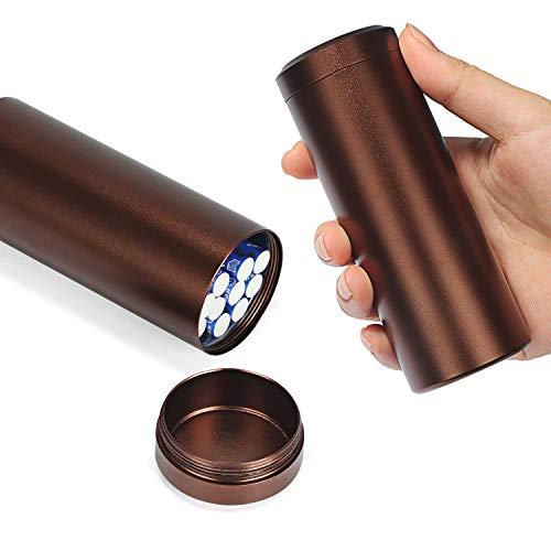 Large Aluminum Cigarette Case Jar - YHOUSE Waterproof Round 100