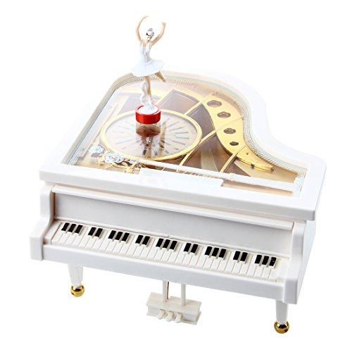 TOOGOO(R) Caja de musica caja de musica caja de musica de pi