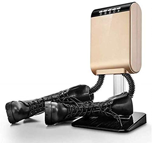 LXTIN Schuhtrockner Elektrik- Schuhtrockner Elektroschuhwärmer für Boots Gummistiefel und Handschuhe Trockner mit Gebläse und Timer für 1 Paar Schuhe Deodorant Dry Multifunktions