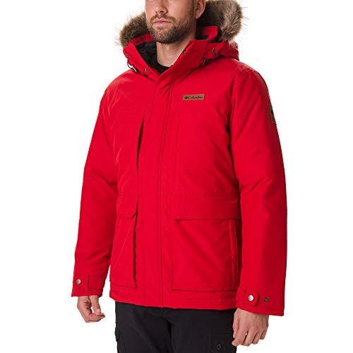 Columbia Sportswear Herren Marquam Peak Jacke, Mountain Red, S