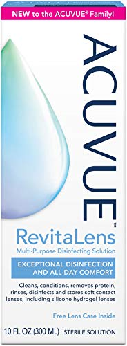 ACUVUE RevitaLens Multi-Purpose Disinfecting Solution 10 oz