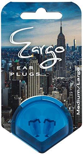 Taponesde oídos Reutilizables SwedSafe Eargo 22dB - Tapones de Silicona Transparentes - Preserva la Calidad de Sonido y el Tono - Incluye Estuche - Grande