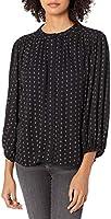 Marque Amazon - Goodthreads Fluid Twill Volume-sleeve Poet Shirt - dress-shirts - Femme