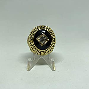 1968 Al Kaline Detroit Tigers High Quality Replica World Series Ring Size 11-Gold