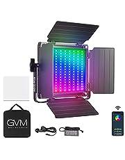 GVM 800D RGB videolamp paneel, app control fotografie LED-licht 3300K-5600k studio-fotografielamp voor studio, YouTube, fotografie, video-opname, camera-LED-paneellicht, fotografie verlichting led