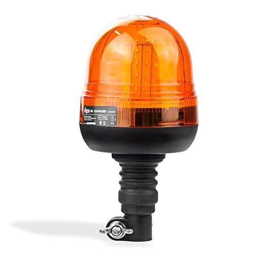 Dema Rundumleuchte - Warnleuchte - Blinklicht mit flexiblem Fuß 40 LED\'s ultra Hell