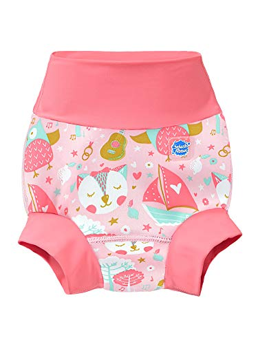 Splash About New and Improved Happy Nappy Swim Diapers (Owl & The Pussycat, 12-24 Months)