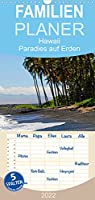 Hawaii Paradies auf Erden - Familienplaner hoch (Wandkalender 2022 , 21 cm x 45 cm, hoch): Impressionen aus der wundervollen Welt von Hawaii (Monatskalender, 14 Seiten )
