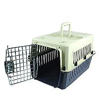 ペット用品ペット用エアボックス犬輸送用ボックス猫委託ボックス旅行便利な箱 (Size : M)