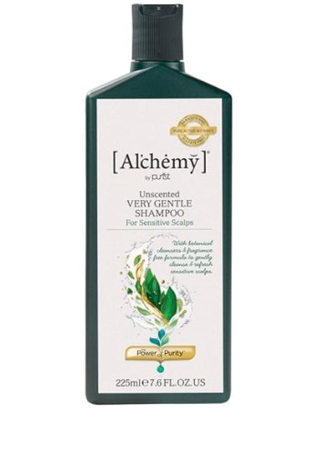 学士くびれたマイクロプロセッサ【Al'chemy(alchemy)】アルケミー ベリージェントルシャンプー(Unscented Very Gentle Shampoo)(敏感肌用)225ml