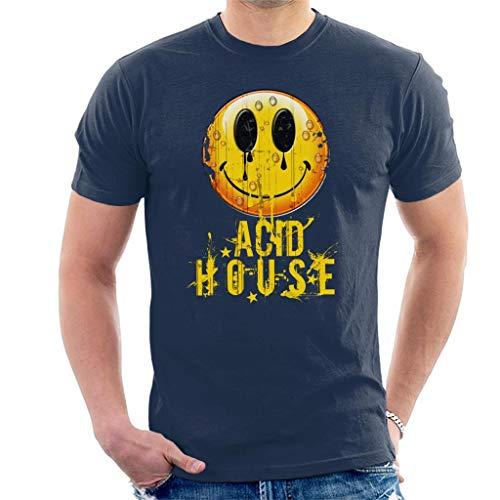 Cloud City 7 Vintage Acid House Men's T-Shirt